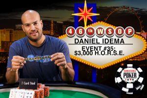 WSOP 2015: Andre Boyer und Daniel Idema mit Erfolgen