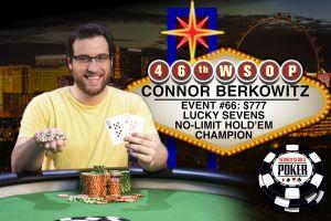 WSOP 2015: Connor Berkowitz letzter Sieger des Sommers