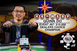 WSOP 2015: Quinn Do gewinnt bei der $10.000 Dealers Choice Championship