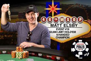 Matt Elsby gewinnt Event 19 der WSOP 2015