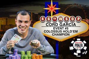 WSOP 2015: Cord Garcia gewinnt Rekordturnier, Max Pescatori holt sich Bracelet Nummer drei