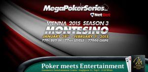 Ende Januar steht die Mega Poker Series im Montesino an