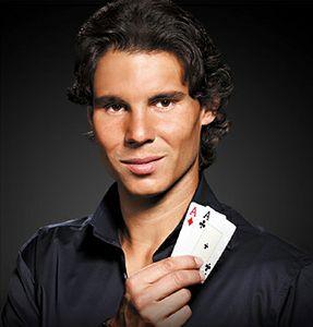 Rafael Nadal pokert bei der EPT Prag