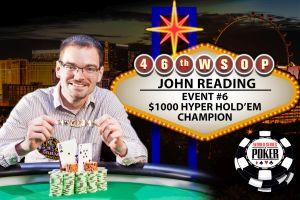 WSOP 2015: John Reading gewinnt sein erstes Bracelet