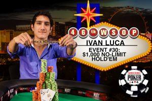 WSOP 2015: Franco Luca Ivan erster Braceletgewinner aus Argentinien