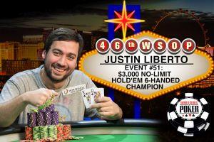 Justin Liberto gewinnt Event 51 der WSOP 2015 – Alexander Debus Vierter