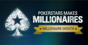 PokerStars: Monat der Millionäre startet