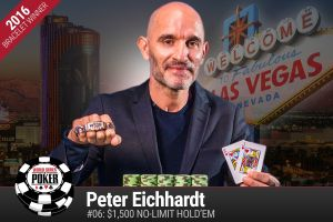 WSOP 2016: Erste Bracelets für Peter Eichhardt und Alan Percal