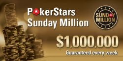 Satter Jahresabschluss bei PokerStars: $5 Millionen bei der Sunday Million