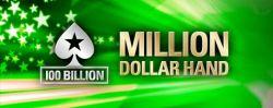 PokerStars: die 100-milliardste Hand ist $5 Millionen wert