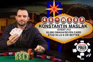 WSOP 2015: Bracelets für Konstantin Maslak und Barry Hutter