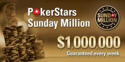 $8 Millionen beim Jubiläum der Sunday Million am 2. März 2014