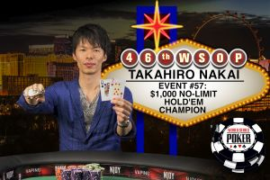 WSOP 2015: Takahiro Nakai und Anthony Zinno erfolgreich