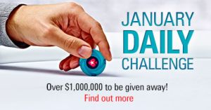 PokerStars January Daily Challenge