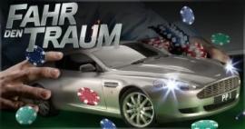 Fahr den Traum: Mit PartyPoker einen Aston Martin DB9 gewinnen