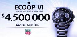 4,5 Millionen Dollar bei der ECOOP VI - Start erfolgt heute