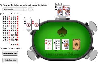 Neuer Hand Calculator für Poker Odds Berechnung