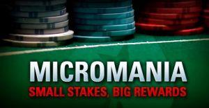 Micromania im Juli auf PokerStars