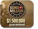 Ein deutscher Spieler am Final Table der Sunday Million auf PokerStars