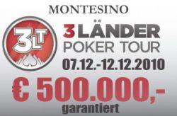 Finale der 3 Länder Poker Tour in Wien