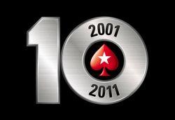 PokerStars feiert zehnten Geburtstag