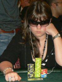 Annette Obrestad erhält den European Poker Award