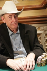 Doyle Brunson spielt bei den Irish Poker Open