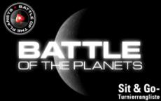 PokerStars veranstaltet Sit 'n' Go Serie: Battle of the Planets